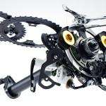 單車零件也可砌成藝術品