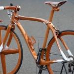 極致復古 木製單車