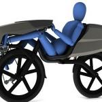 躺著踩的單車 也有實用的一面