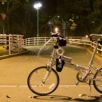 單車公園遊 夜闖九龍城單車公園