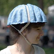 用完即棄紙製單車頭盔