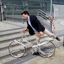 Cyber 味極重的 Sada Bike 中空摺車
