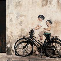 單車版《單戀雙城》:雙輪檳城