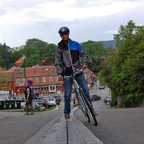 怕上斜唔夠力?Trampe Cyclocable 幫你連人帶單車上斜!