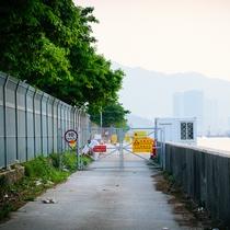 [急報] 東涌 - 迪欣湖海邊其中一段因工程關係封閉