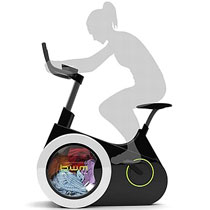 一舉兩得:踩著單車洗衫