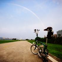 意想不到的簡單!台北市區踩單車到八里淡水相片集