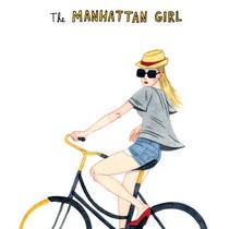 插畫師筆下的紐約單車友 你又會係入面的邊一種?
