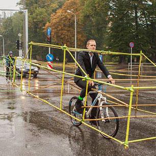 單車究竟慳到多少道路空間?