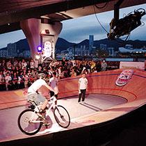 香港首屆 Red Bull Mini Drome 全球最小單車鑊場比賽