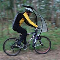 落雨踩車又有乜好怕喎:LEAFXPRO 單車用雨傘