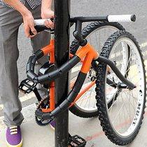 完美解決防盜問題 真正對摺的單車!
