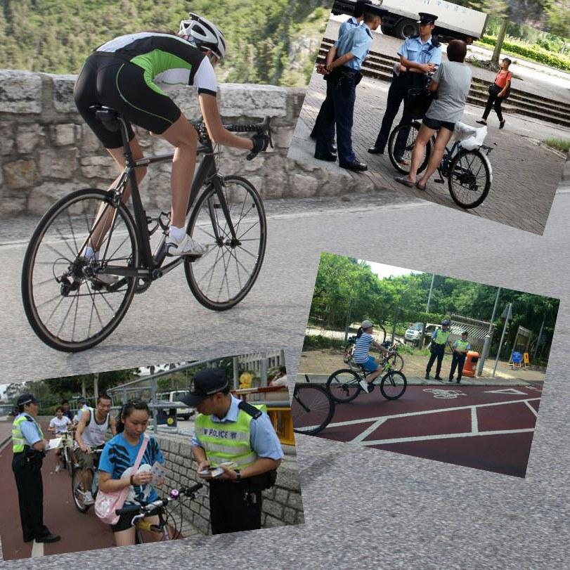 一連十日進行單車安全執法行動
