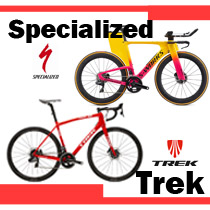 簡單認識美國品牌 Trek 和Specialized Road Bike