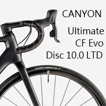 Canyon Ultimate CF Evo Disc 10.0 LTD 車重不足 6kg